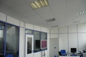 Akustikdecke im Büro